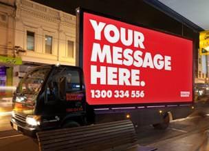 Mobile Billboards Advertising and Digital Outdoor Screens